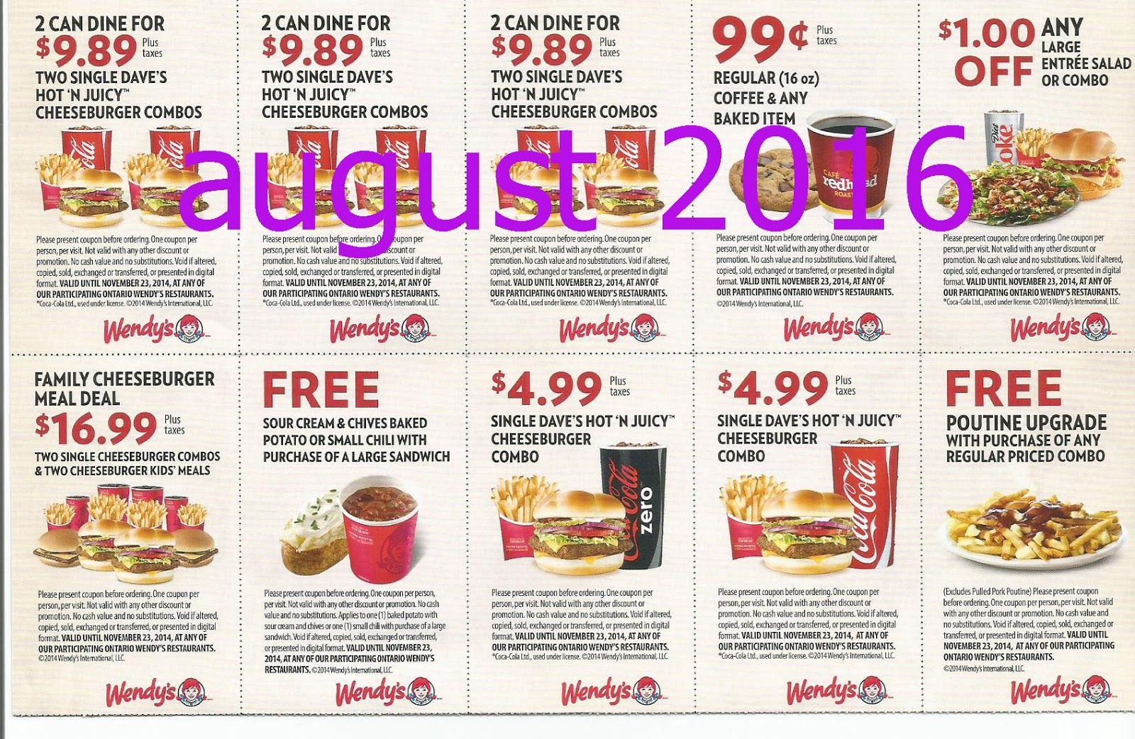 photograph about Wendy's Printable Coupons titled No cost Printable Discount codes: Wendys Discount coupons Instant Foods Discount coupons