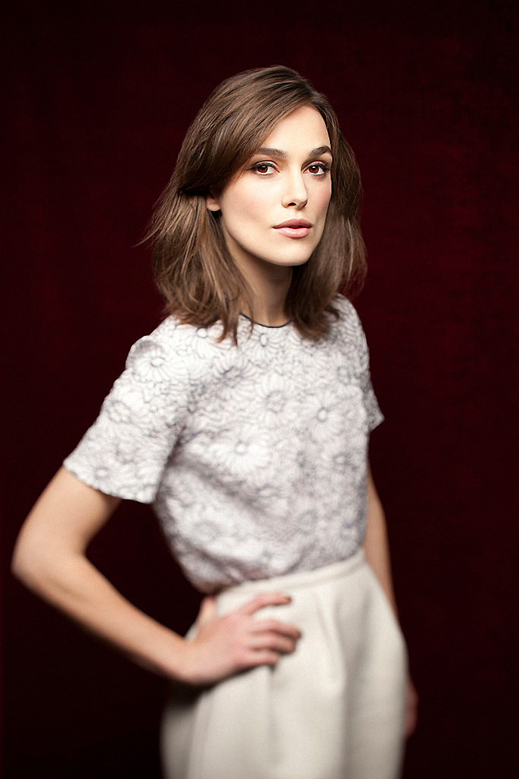 Keira Knightley by Jay L Clendenin for Los Angeles Times • 2012