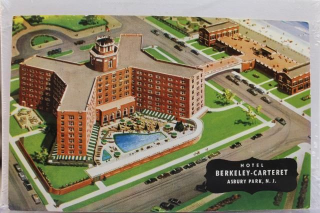 Berkeley Carteret Hotel, Asbury Park, NJ   Asbury park, Berkeley hotel,  Asbury