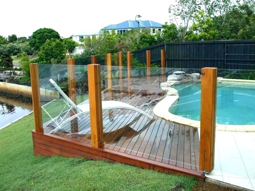 Image Result For Pool Fence Ideas Decks Around Pools Cheap Pool Backyard Pool