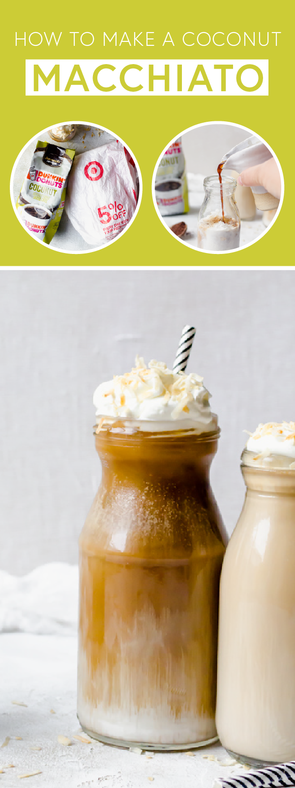 Give your favorite coffee drink a flavorful twist with the