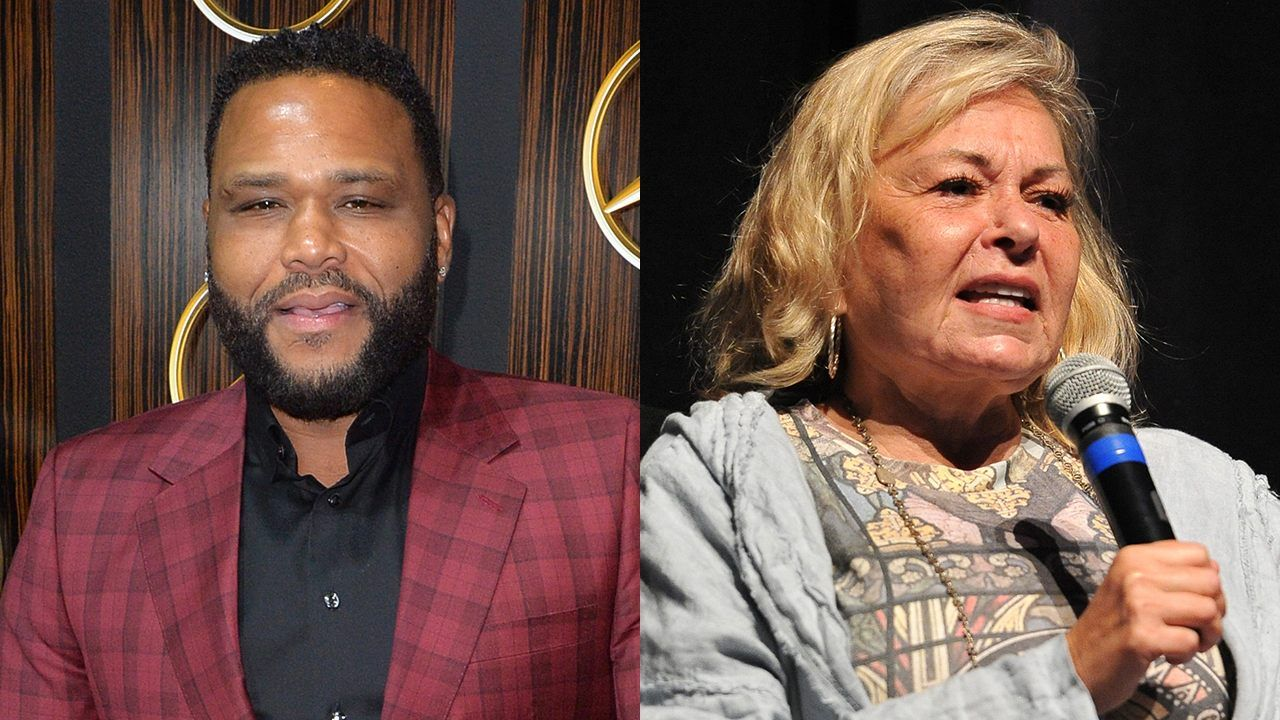 Anthony Anderson responds to Roseanne Barr's recent anti