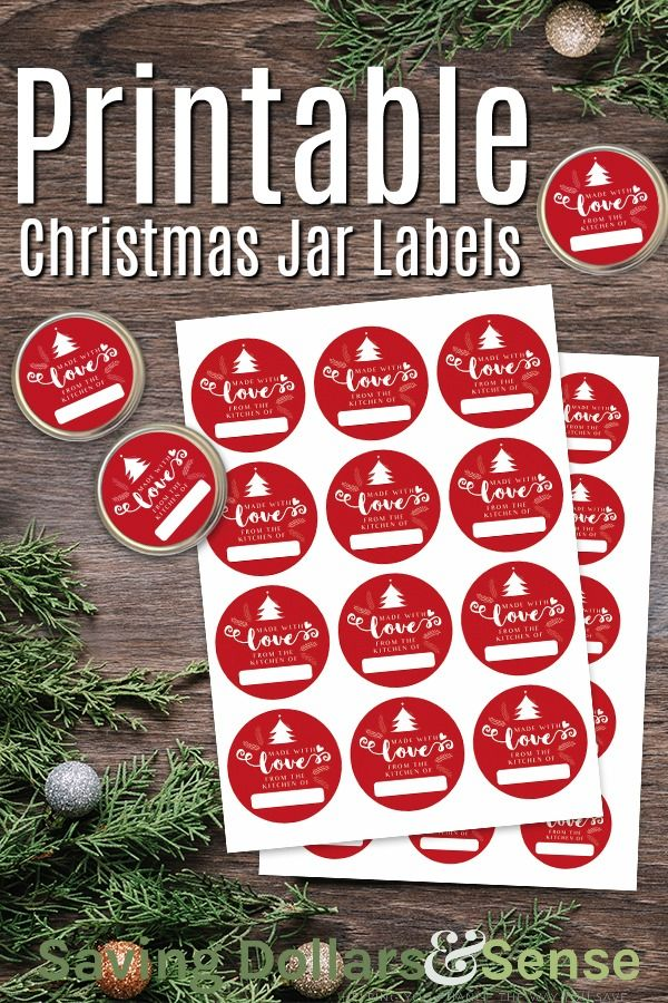 Printable Christmas Jar Labels is part of Christmas mason jar labels, Christmas jars, Jar labels, Christmas printable labels, Mason jars labels, Christmas labels - I am loving these free printable Christmas Jar Labels so much! Add them to all of your homemade Christmas food gifts this year