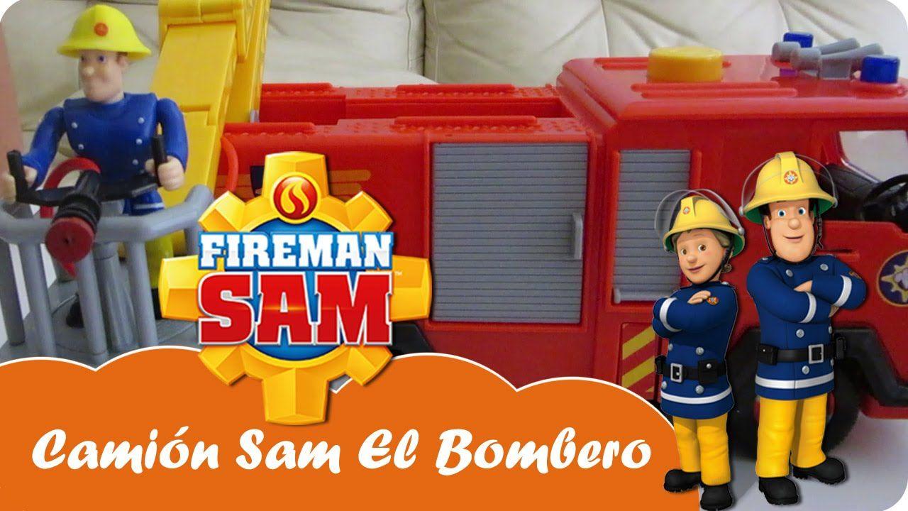 Camión Bomberos Júpiter Juguetes Fireman Sam El Bombero Mundo Juguetes Videos Juguetes En Español Mundo Juguetes Sam El Bombero Bomberos
