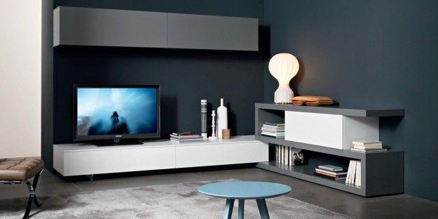 Parete grigio cucina cerca con google parete colorata for Pareti soggiorno grigio