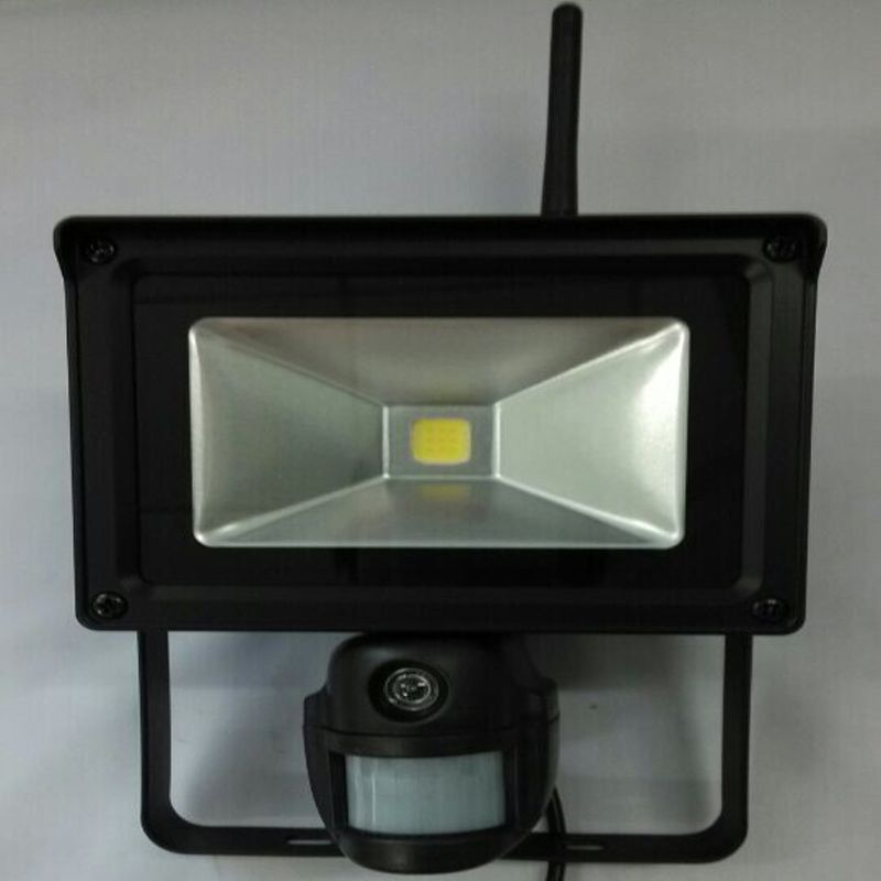 Flood Light Security Camera Wireless 720P Hd Wifi Floodlight Ip Camera With Pir Sensor For Motion