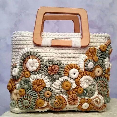 Bolsos Pinterest trapillo Handbags de de Bolso trapillo tqgfI