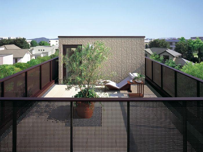 屋上のペントハウス イメージ 画像あり ペントハウス 和風の家の設計 屋上