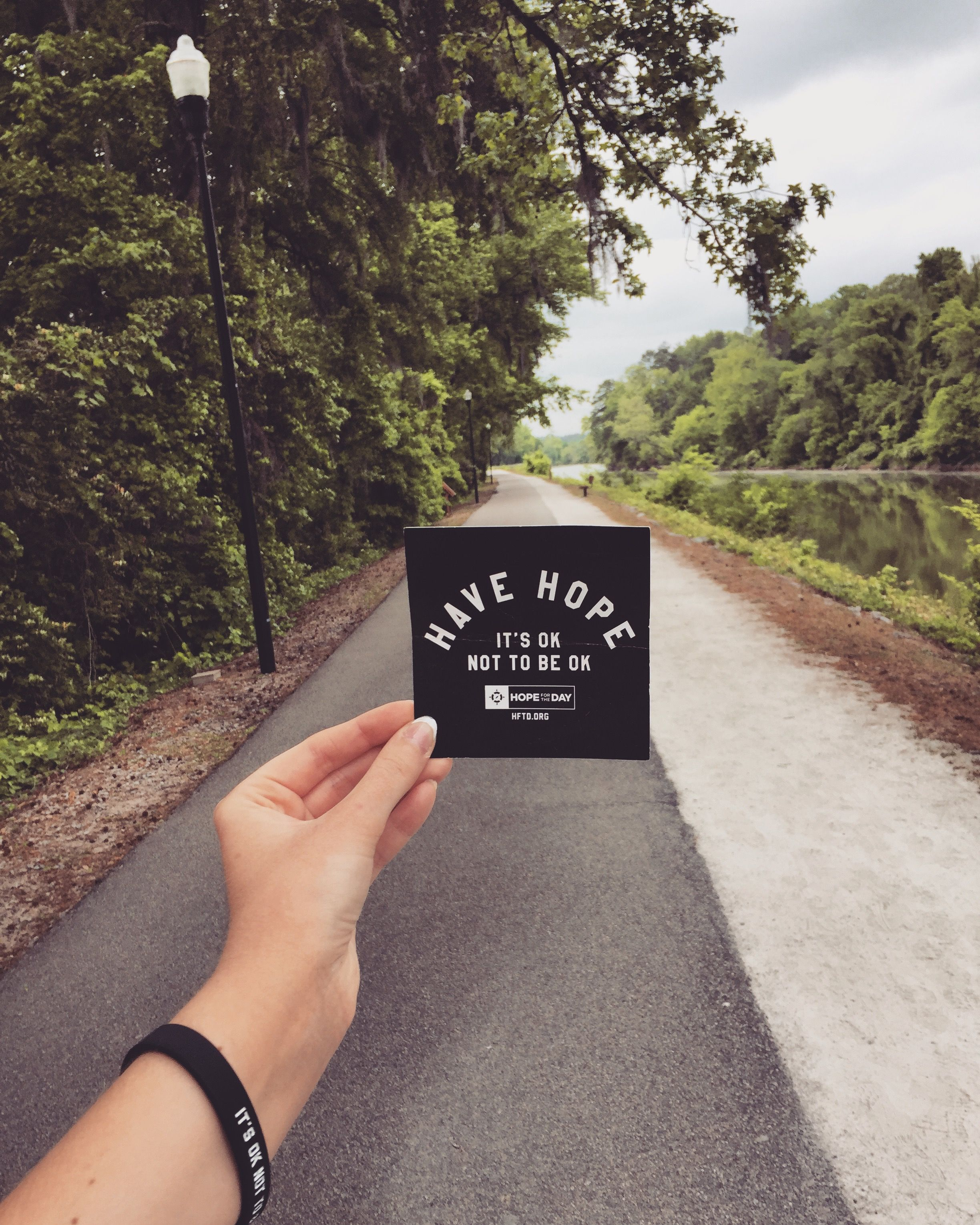 The path to HOPE is always there.  #HopeForTheDay #HaveHope