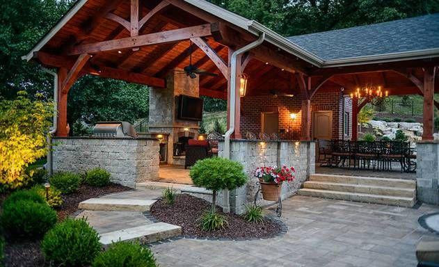 Pittsburgh Landscape Showcase Gibsonia Back Yard Paradise Backyard Backyard Paradise Patio