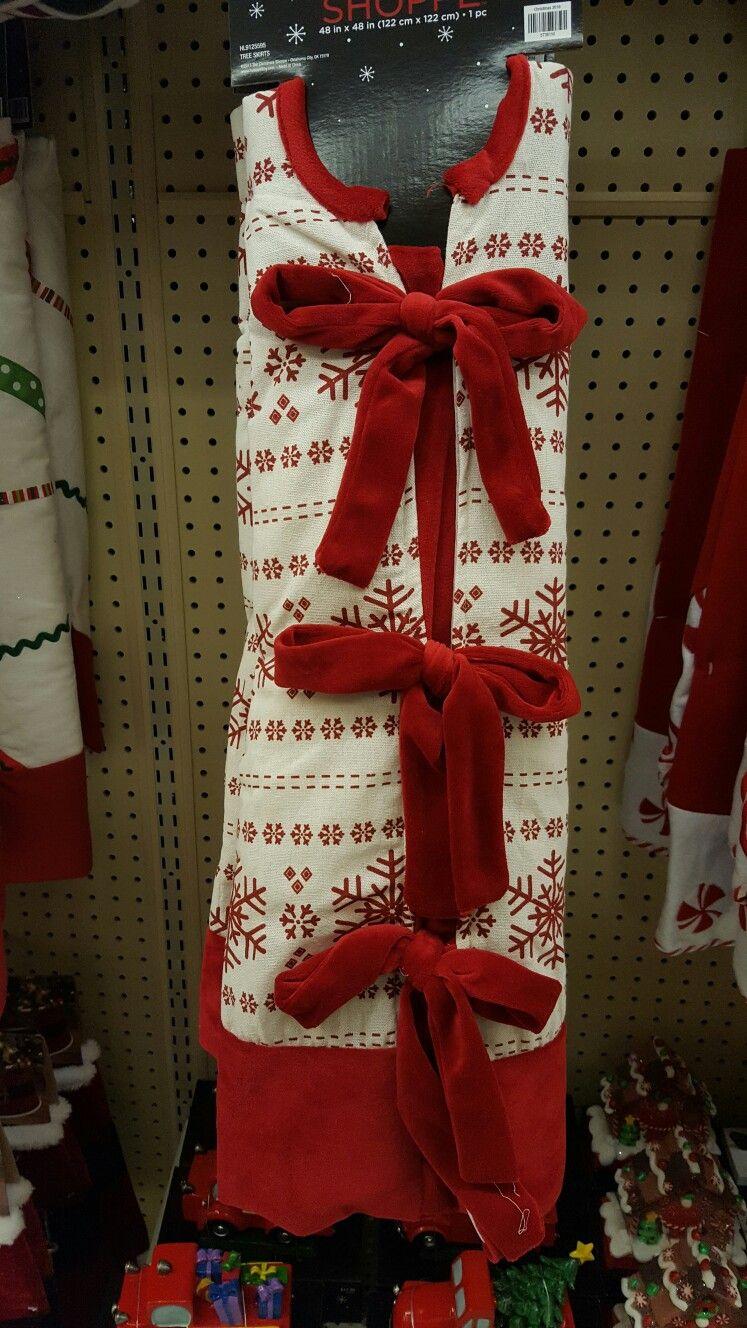 Hobby Lobby Tree Skirt Happy Holidays Holiday Holiday Decor