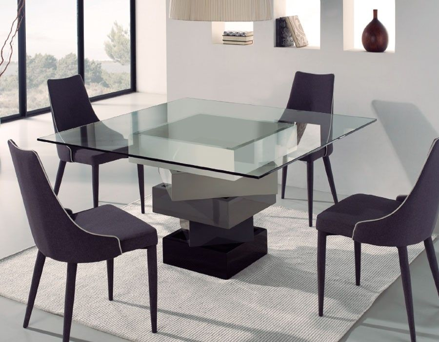 46++ Table salle a manger carree design inspirations