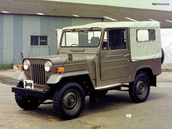 Mitsubishi Jeep J20 1961 Jeep Mitsubishi Mahindra Jeep