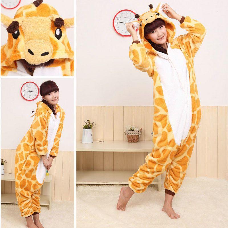 Fancy Dress Cosplay Onsie Adult Unisex Hooded Pyjamas Xmas Sleepwear UK