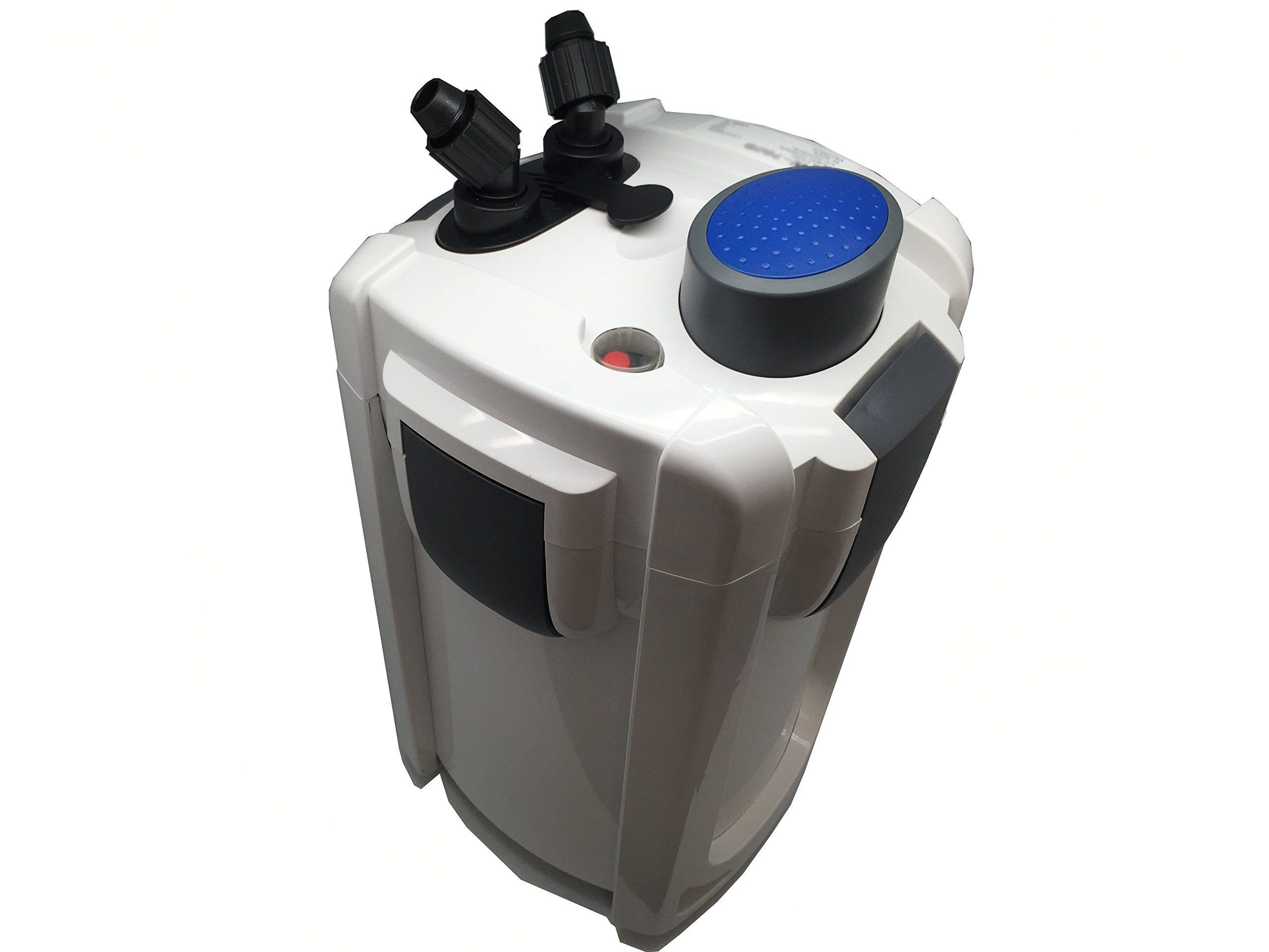 SunSun HW 704B 525 GPH 5 Stage External Canister Filter with 9W UV