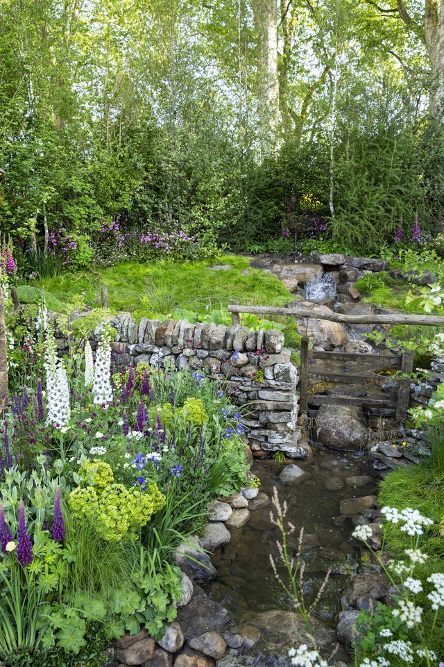 Welcome to Yorkshire garden designed by Mark Gregory built by Landform Consultants  Chelsea Flower Show 2018