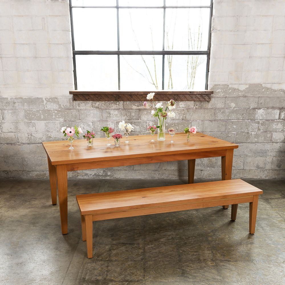 This table is a mid century modern dream made in our portland