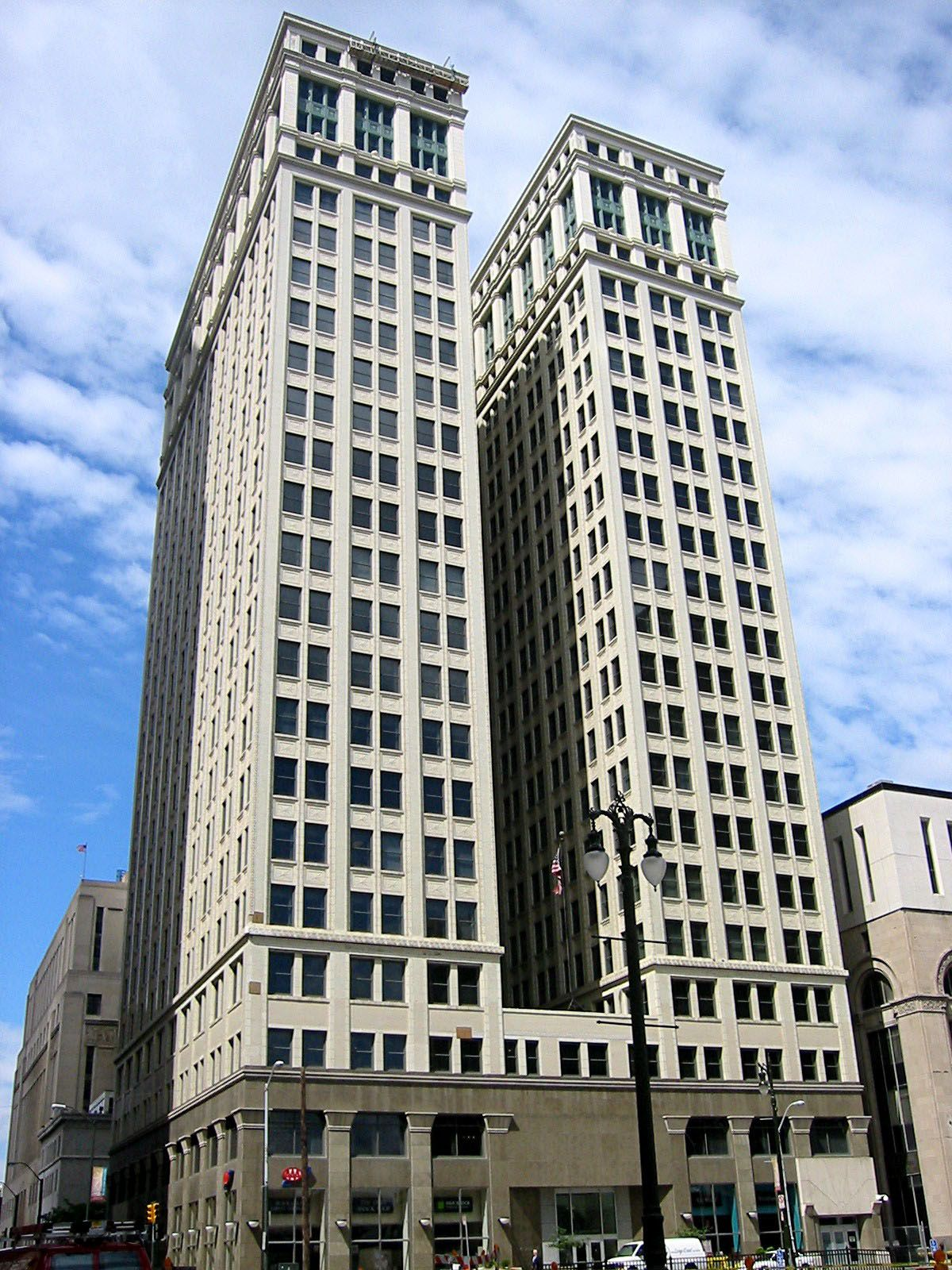 The Dime Building Is A Skyscraper Office Building Located In