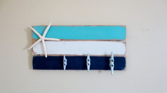 Hey, I found this really awesome Etsy listing at https://www.etsy.com/listing/245495270/boat-cleat-coat-hooks-towel-rack-in