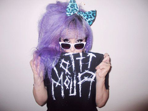 ✝☮✿★ COLOFUL HAIR  ✝☯★☮ Pastel Goth Fashion