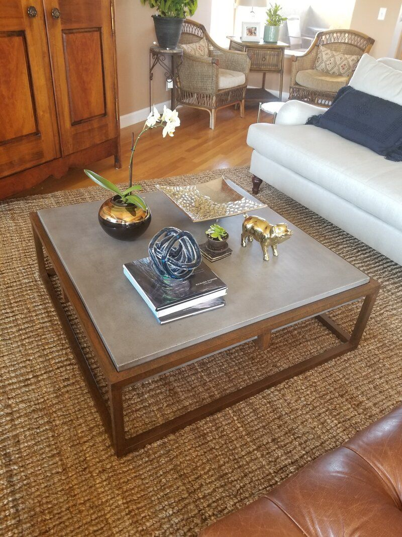 Tabetha Solid Coffee Table Glass Coffee Table Makeover Coffee