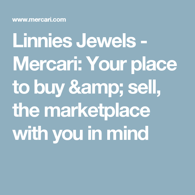 Linnies Jewels - Mercari: Your place to buy & sell, the marketplace with you in mind