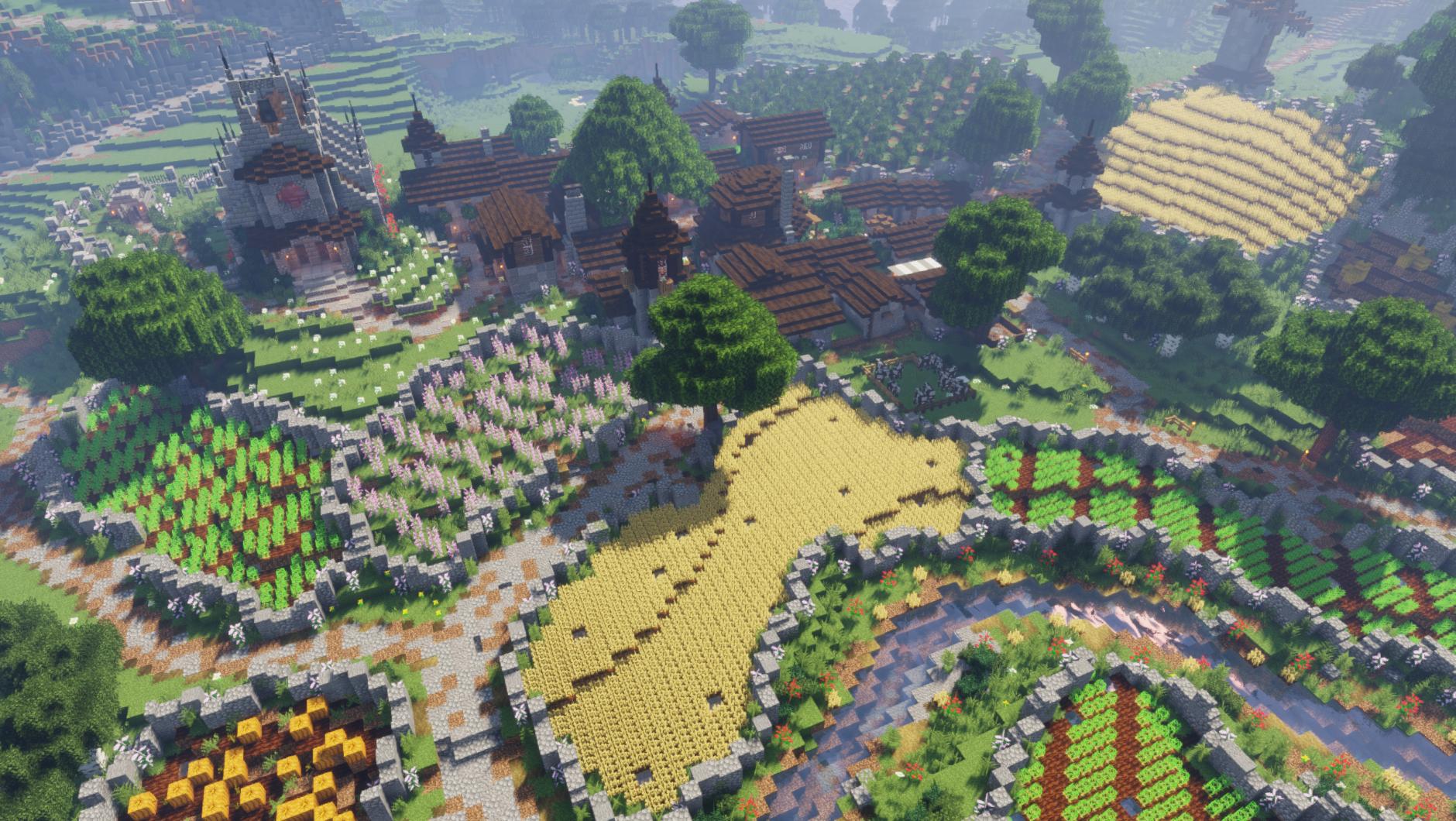 Whiteglen  My Vanilla Survival Minecraft Village Remake        Youtube Com  C  Fwhip  With