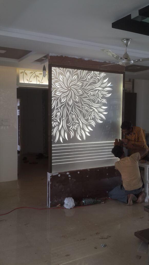 lesar art v wall decor room partition designs glass