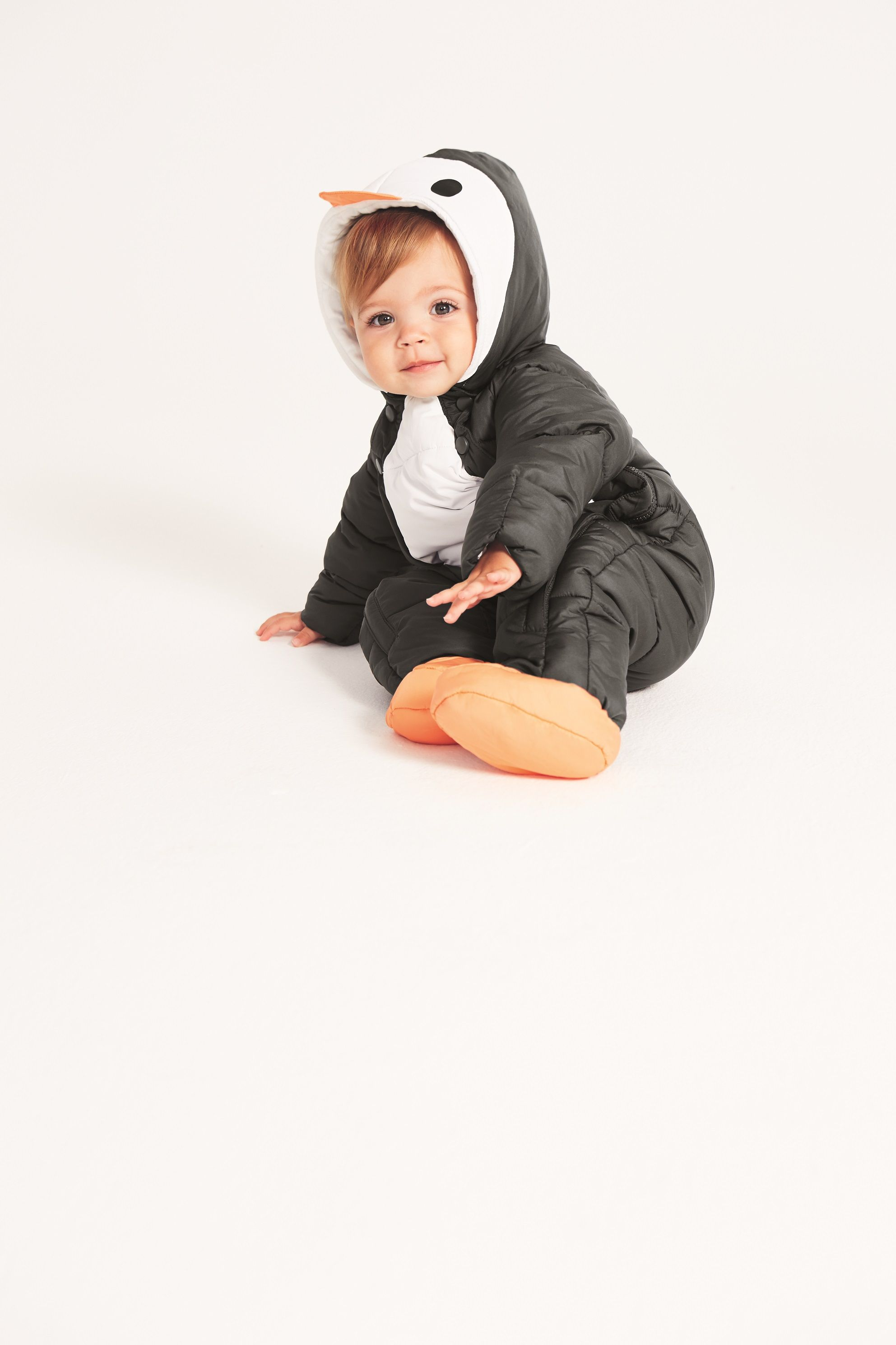 925fefa99 Perfect for outdoors adventures as the weather turns colder, this snowsuit  is padded to keep them extra warm and snug.