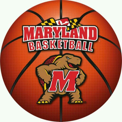MARYLAND TERRAPINS BASKETBALL PAW MAGNET-MARYLAND BASKETBALL DOG PAW MAGNET