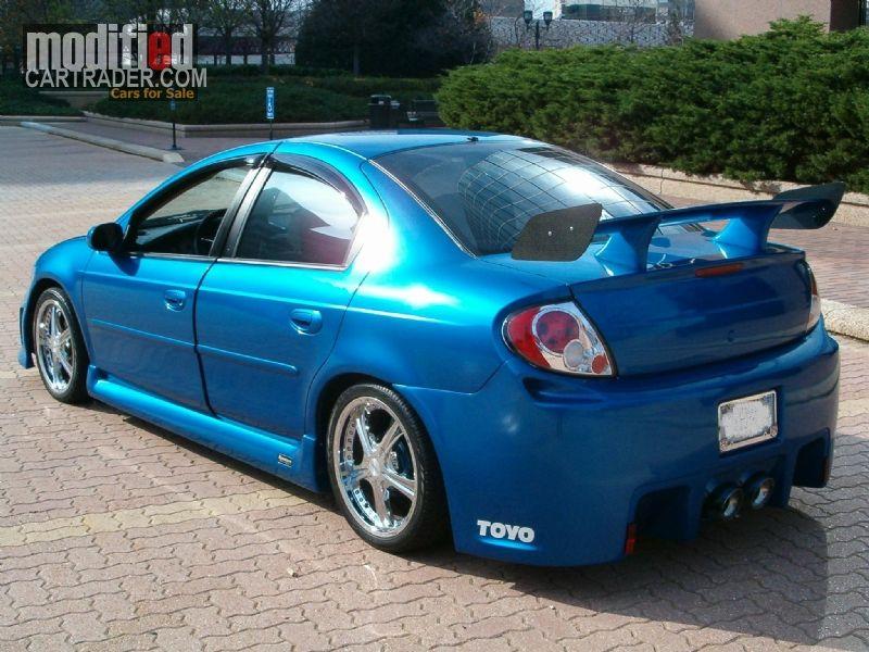 2000 Dodge Neon Neon Car Tuner Cars Srt4 Neon