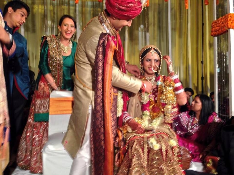 Karol Bagh Actors Ravi Dubey And Sargun Mehta Tied The Knot In A Glitzy Affair