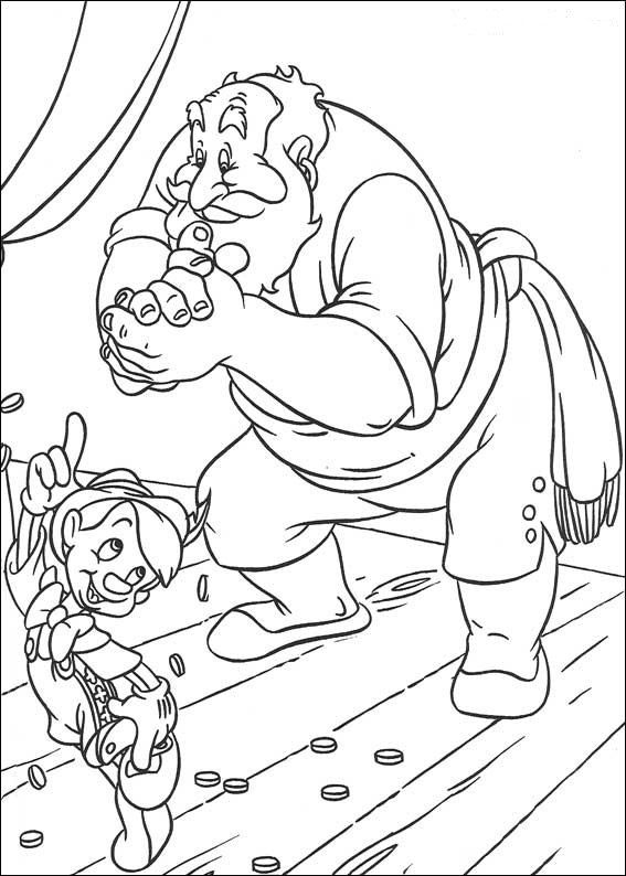 Dibujos para Colorear Disney 74 | Pinocho/Temática /Fiesta ...