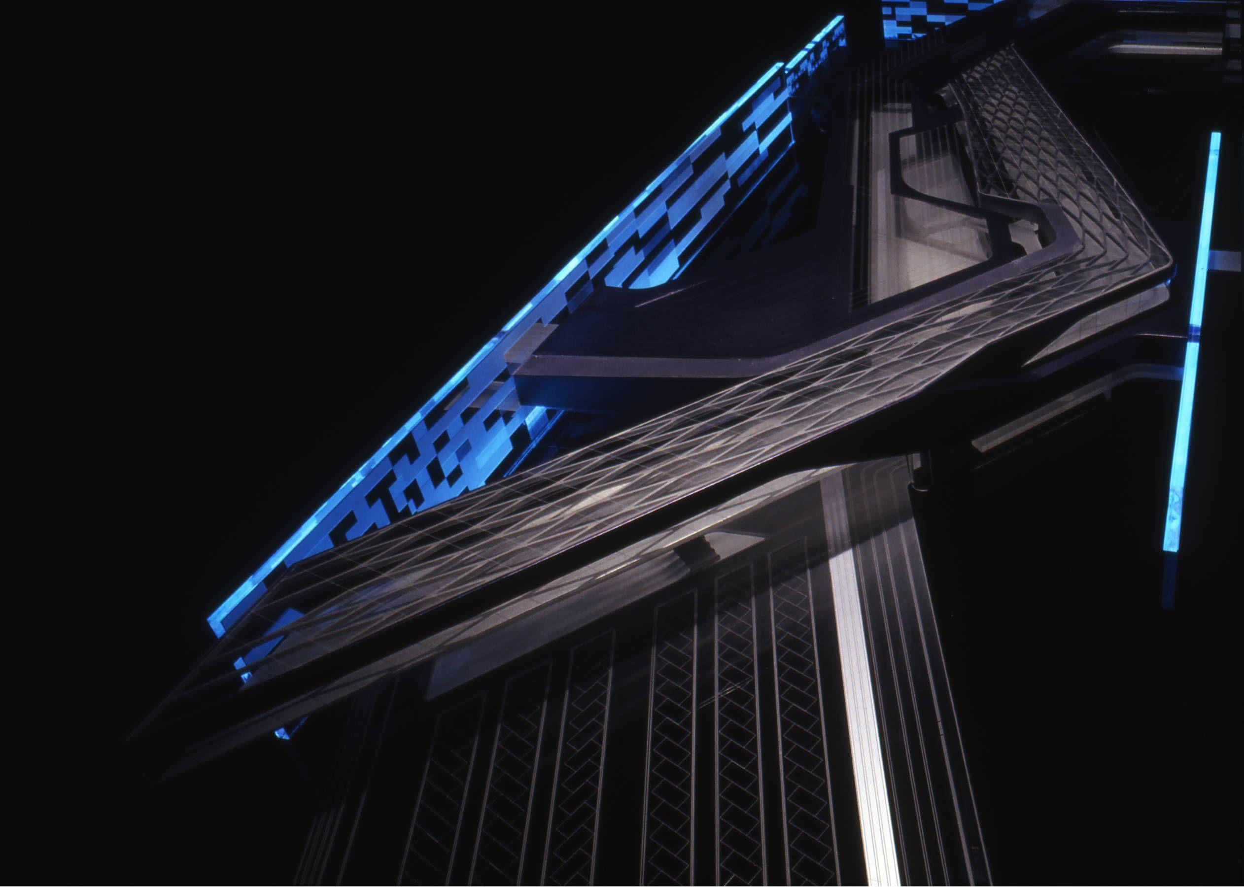 Zaha Hadid :: BMW Central Building | Leipzig, Germany (2001-2005)