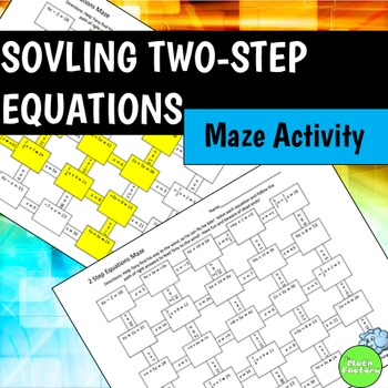 Spiced Up Practice For Solving Two Step Equations Are Your Students