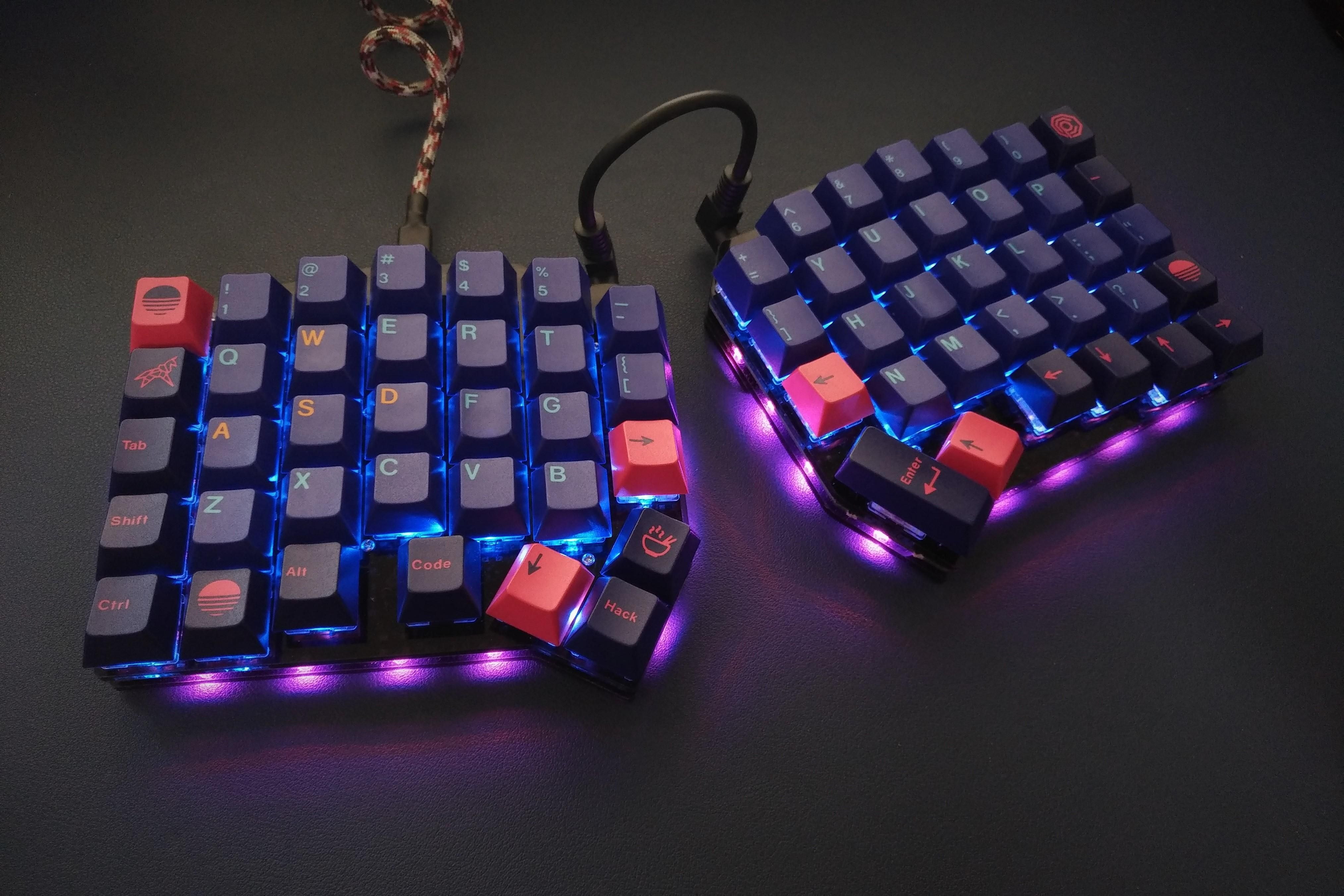 Ergodash I Designed A New Keyboard Mechanicalkeyboards Keyboard Mini Keyboard Pc Keyboard