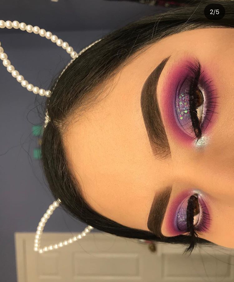 Pin By Christina Mehlhorn On Makeup With Images Purple Eye