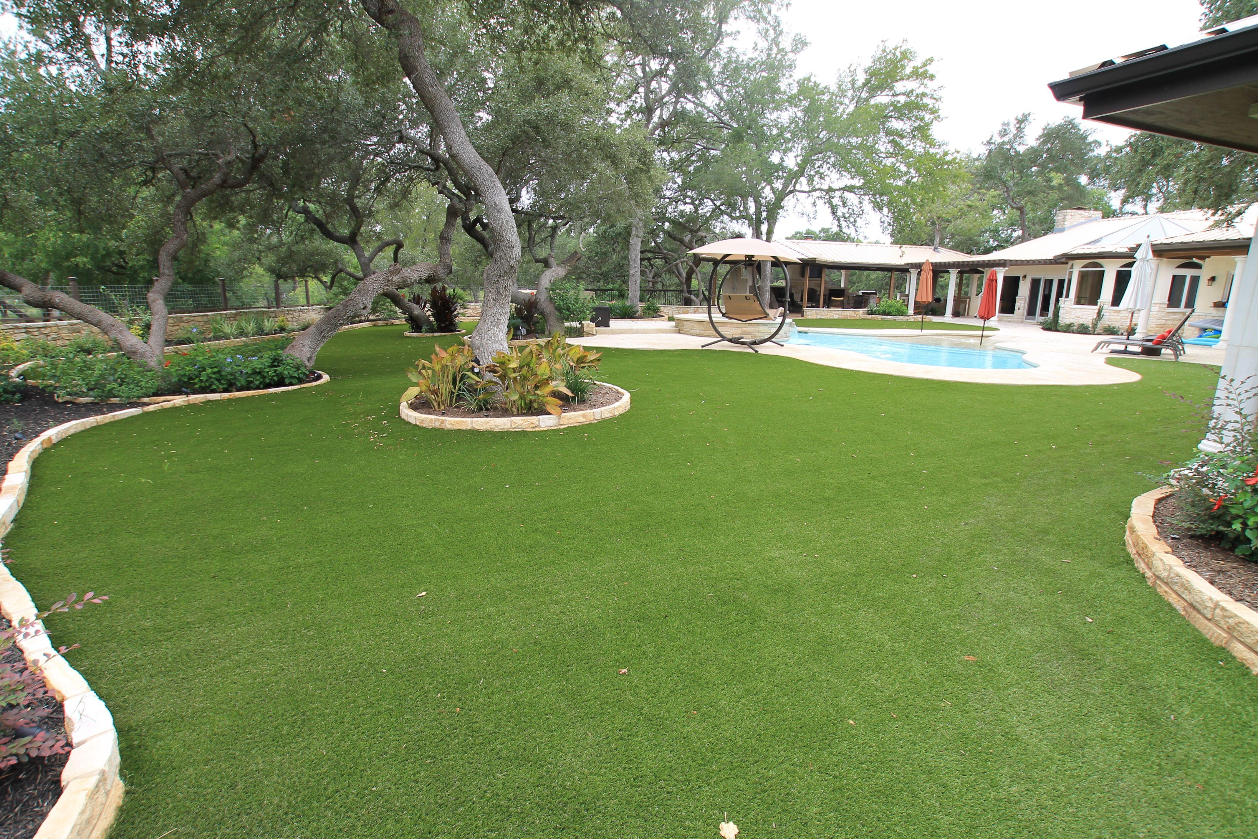 Turf Grass Installation Artificial Lawn Artificial Grass