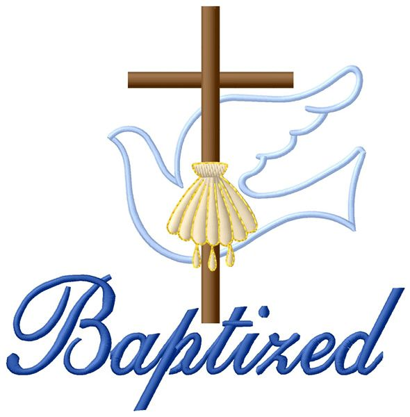 Baptized Embroidery Design Pinterest Embroidery Designs