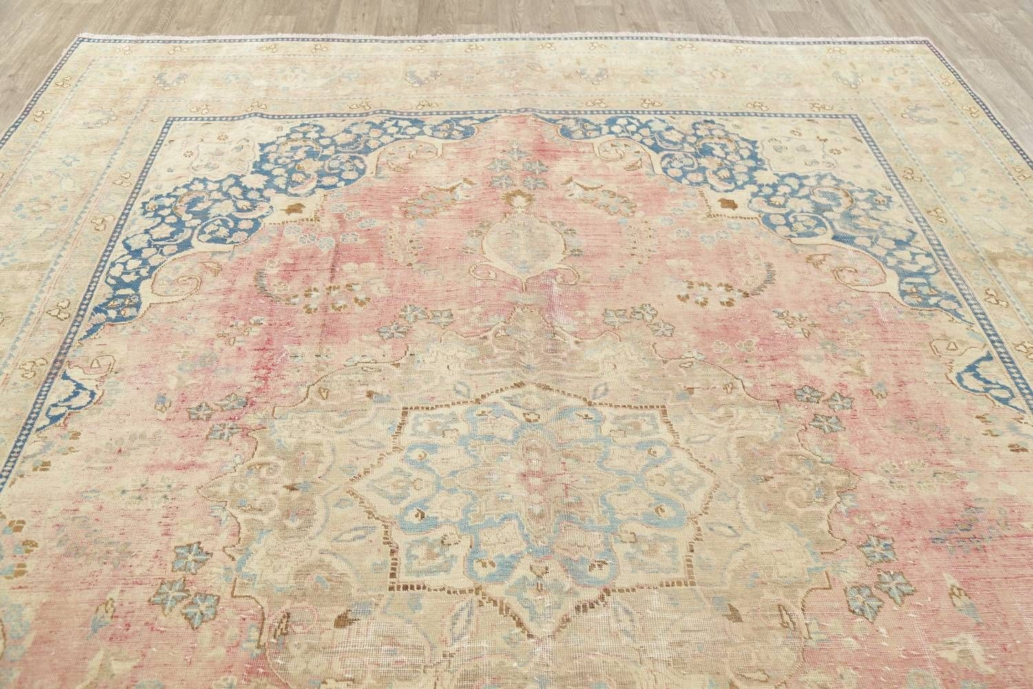 Antique Mashad Muted Distressed Persian Rug 10x12 Distressed Persian Rug Persian Rug Rugs