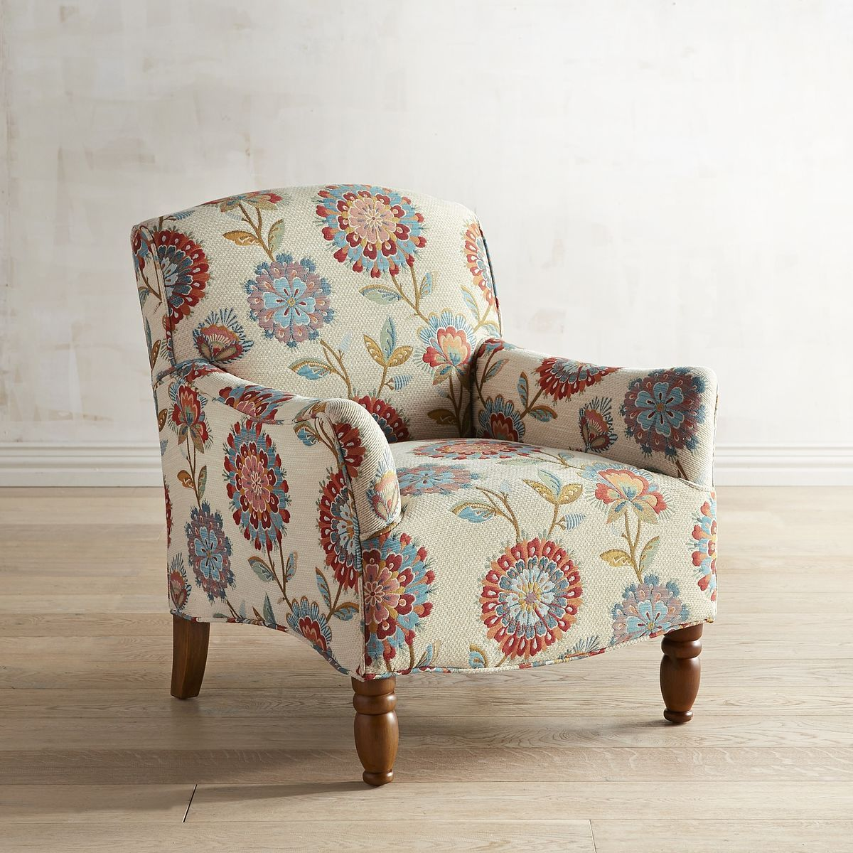 Frankie Floral Chair Pier 1 Imports Floral Chair Comfy Chairs