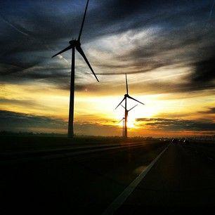 #windmills #Betuwe #A15