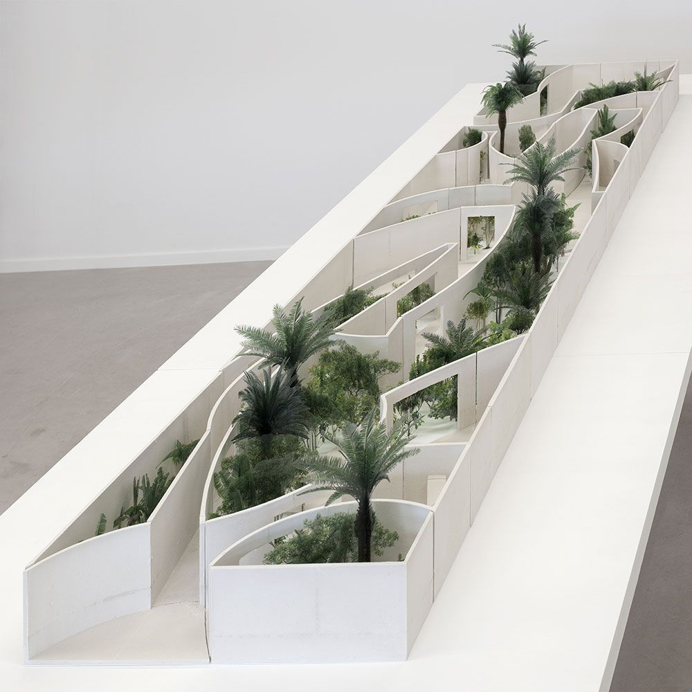 Anne Holtrop / Bahrain National Expo Pavilion, Milana f a s i a: Anne Holtrop