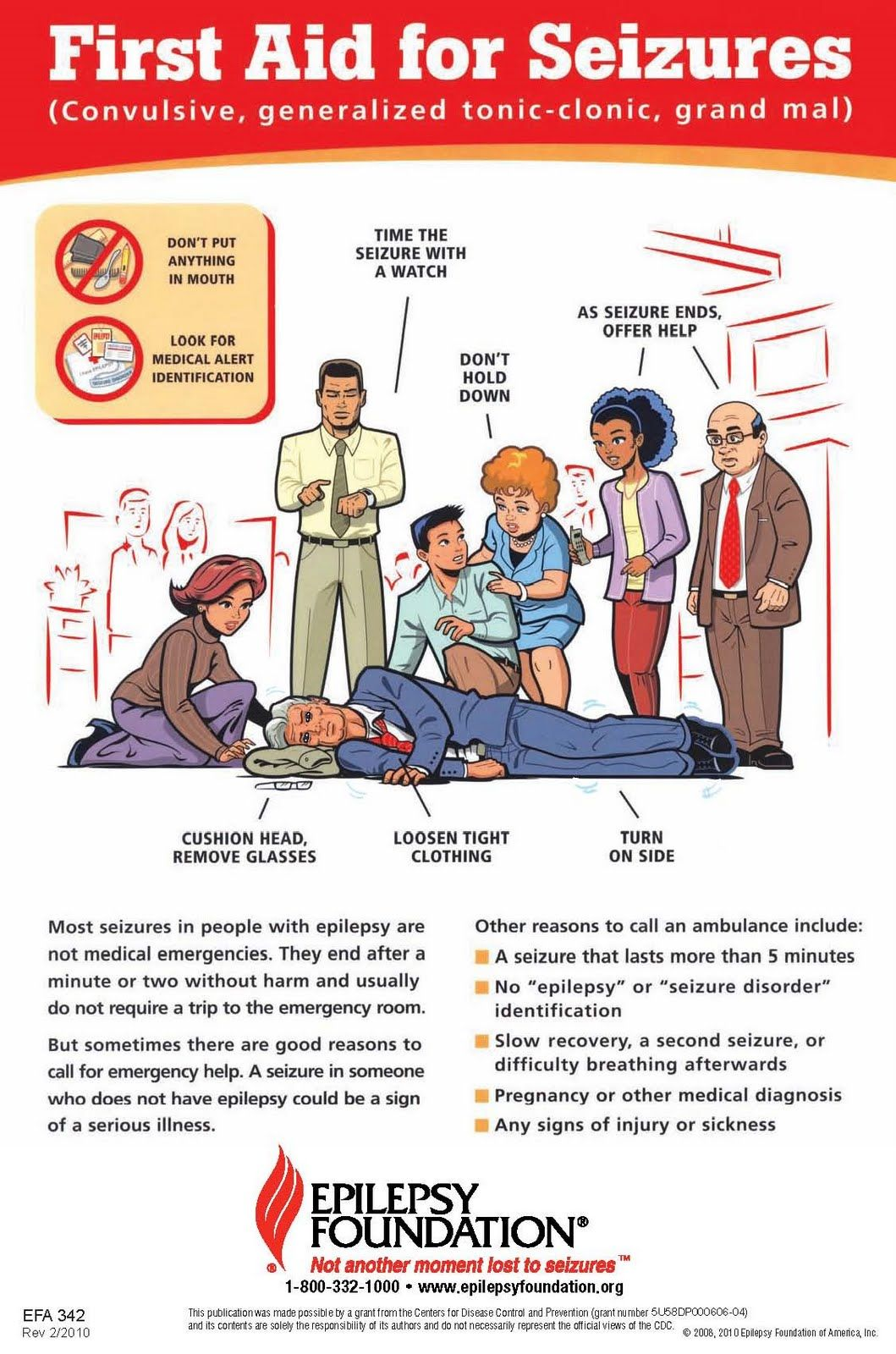 First Aid for Seizures IMPORTANT for everyone to know