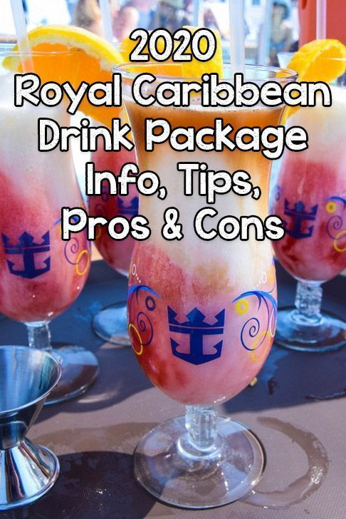 Royal Caribbean Drink Package Pros and Cons