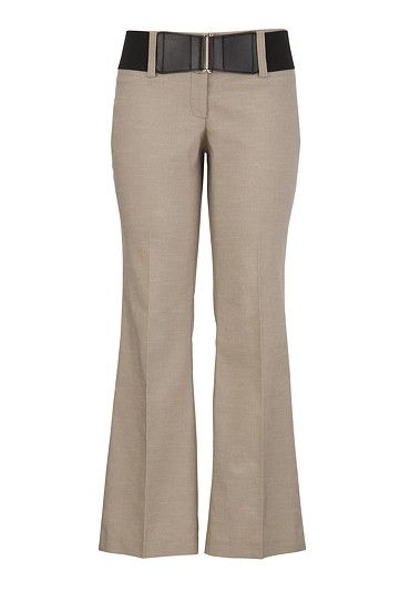 Smart Belted Khaki Bottoms available at #Maurices