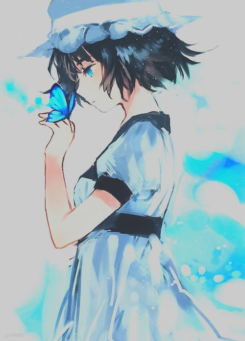 Steins;Gate. This is one of my fave fan pics of mayuri ...