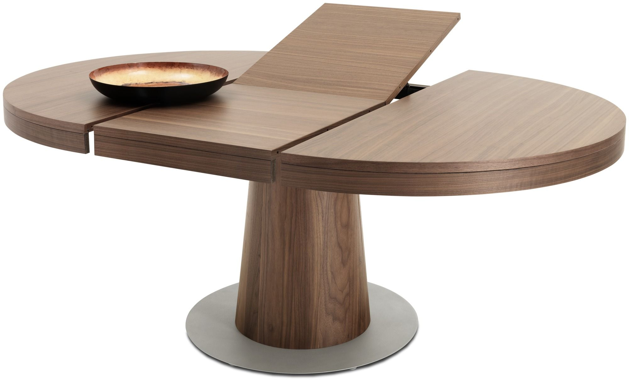 Granada Table With Supplementary Tabletop Round Extendable