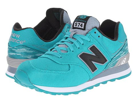 Popular Mens Casual Shoes - New Balance Classics ML574 Teal/White