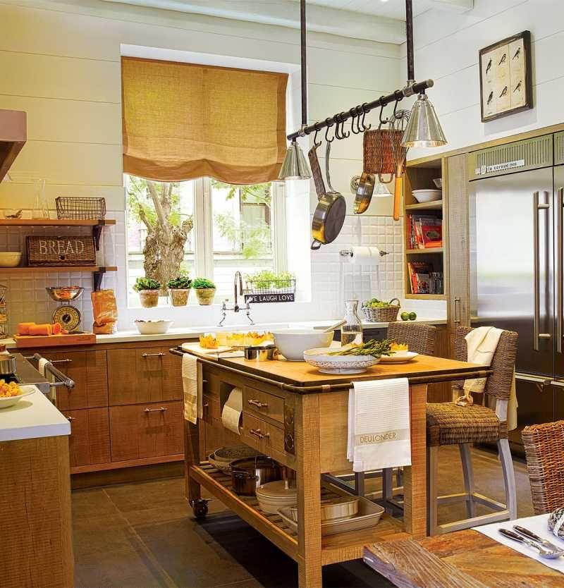 уютные кухоньки деревенских домов фото домашних